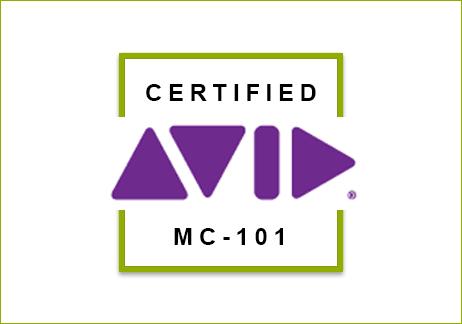 CERTIFICACI�N AVID MC 101