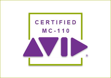 CERTIFICACI�N AVID MC 110